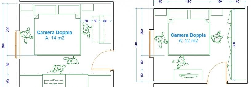 distanza letto armadio design casa creativa e mobili