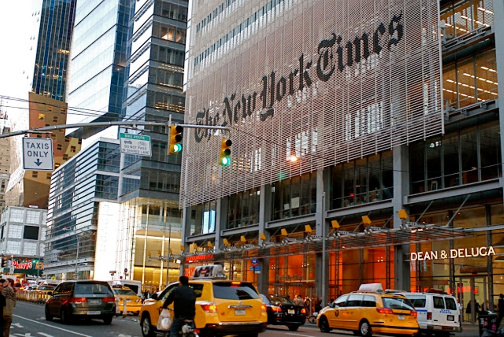 new york times building street view 2