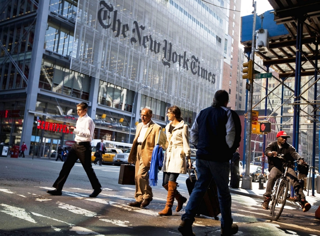 new york times building street view 3